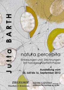 Plakat, natura percepita, Zehdenick
